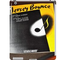 THE JERSEY BOUNCE iPad Case/Skin