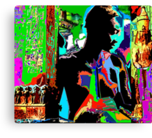 SHE - An African Allegory Canvas Print