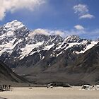 Foot of Mount Cook by jchau