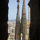 Towers in Barcelona by Elizabeth Brimhall