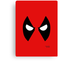 Heros - Deadpool Canvas Print