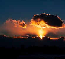 Sunset Immortal- Toronto Canada by Keith Vander Wees