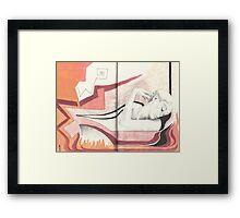 Sketchbook lil.Jak, 76-77 Framed Print