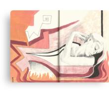 Sketchbook lil.Jak, 76-77 Canvas Print