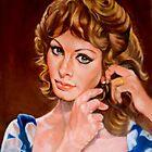 portrait of Sophia Loren by Hidemi Tada