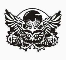 Illuminati Black - Owl - Big Eye by kibo