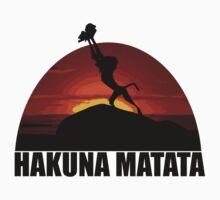 Hakuna Matata Lion King  by ZyzzShirts