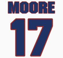 National baseball player Barry Moore jersey 17 by imsport