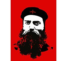 Ned Kelly Meets Che - any colour shirt Photographic Print