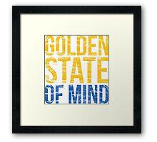 Golden State of Mind  Framed Print