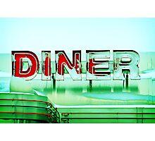 Rosie's Diner Photographic Print