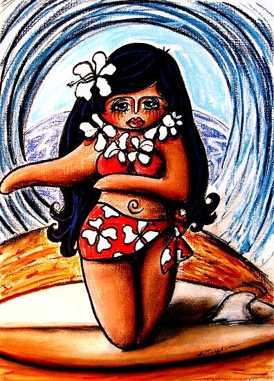 Waikiki by © Karin  Taylor