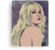Carrie Underwood Portrait A Canvas Print