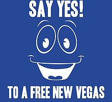 Fallout Yes Man Free New Vegas by BRPlatinum