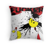 LOVE IS A MOTHERFUCKER Throw Pillow
