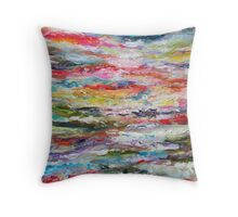 Palette Throw Pillow