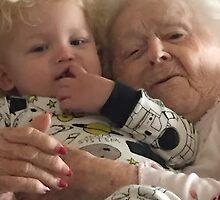 Waking up Great-Grandma..... by zpawpaw