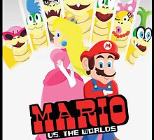Mario Vs. The Worlds by Alyssa Brensinger