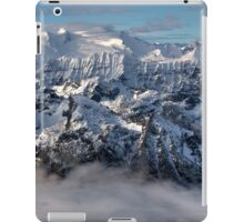 Peaks in the cloud iPad Case/Skin