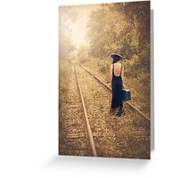 Engaged With Destiny Greeting Card