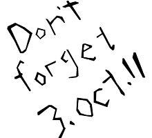 Don't Forget 3rd October 11 Fullmetal Alchemist by BRPlatinum