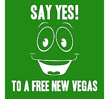 Fallout Yes Man Free New Vegas Photographic Print