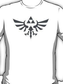 The Legend of Zelda Royal Crest (gray) T-Shirt