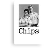 Chips.  Canvas Print