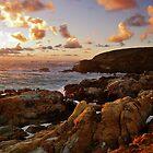 Point Lobos Sunset 3 by LeGreg