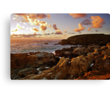 Point Lobos Sunset 3 Canvas Print