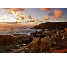 Point Lobos Sunset 3 Photographic Print