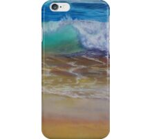 Wave at the shore iPhone Case/Skin
