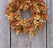 Old Wreath by Walter Quirtmair