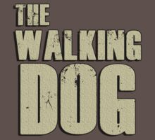 The walking dog by bakery
