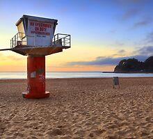 South Avoca Beach sunrise by Leah-Anne Thompson