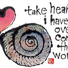 Take Heart (Sea Shell) by dosankodebbie