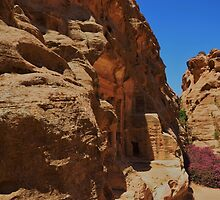 Little Petra by Malcolm Snook