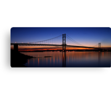 Forth Gloaming Canvas Print