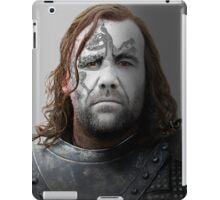 The Hound Sandor Clegane House War Paint iPad Case/Skin