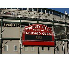Wrigley Field, Chicago Photographic Print