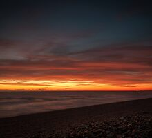 Sunset Seascape by MattHollinshead