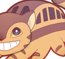 Catbus - Totoro Sticker