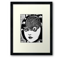 Uzumaki – Eye Framed Print