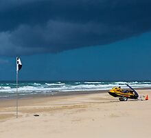 Clearing Storm Peregian Beach Queensland Australia by bidkev1