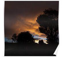 Sunset in Fenham Poster