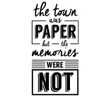 Paper Towns by andrealam