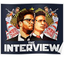 The Interview (2014) - james franco , seth rogen Poster