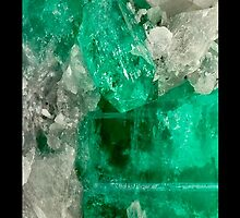 Emerald Rough iPhone / Samsung Case by Tucoshoppe