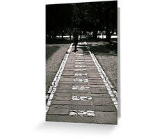 The White Brick Road Greeting Card