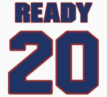 National baseball player Randy Ready jersey 20 by imsport